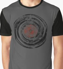 Old Vinyl Records Urban Grunge Graphic T-Shirt