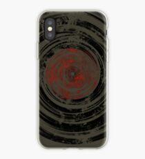 Old Vinyl Records Urban Grunge iPhone Case