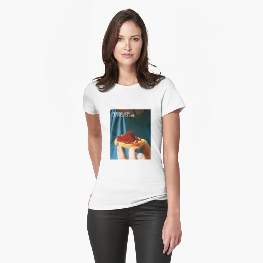 Animal Collective- Strawberry Jam Alternative Artwork Women's T-Shirt Front