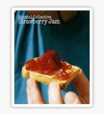 Animal Collective- Strawberry Jam Alternative Artwork Sticker