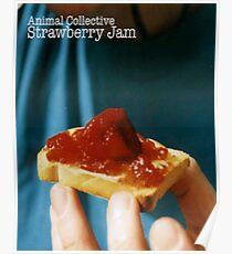 Animal Collective- Strawberry Jam Alternative Artwork Poster
