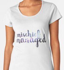Galaxy Mischief Managed Women's Premium T-Shirt