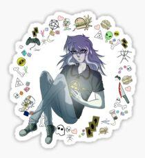 basement goblin Sticker
