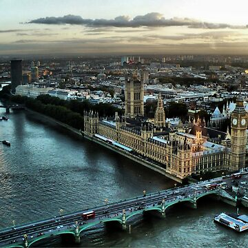 London - Palace Of Westminster by JBJart