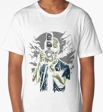 Zombie Photographer Long T-Shirt