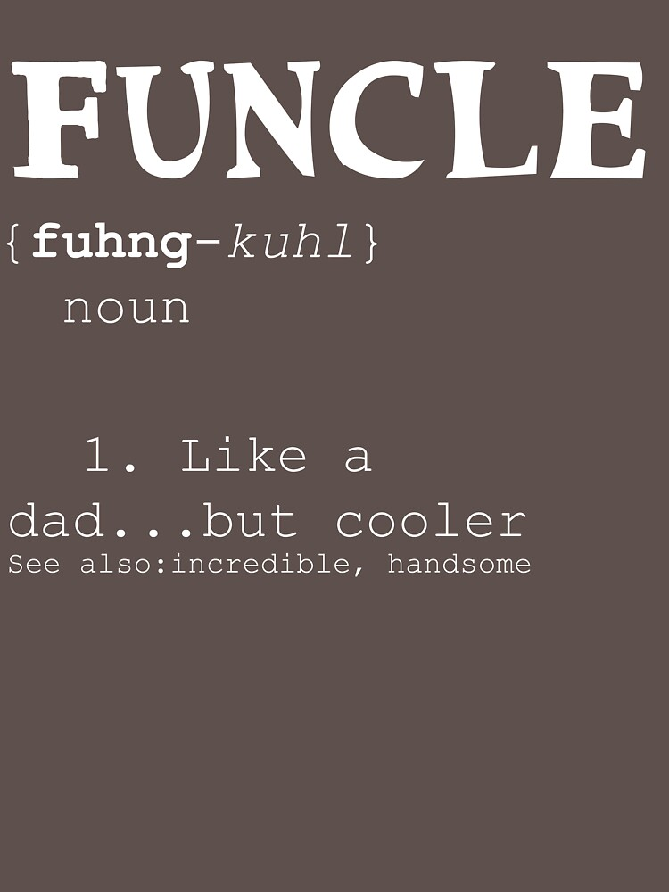 Funcle is a fun uncle by Val-Universe