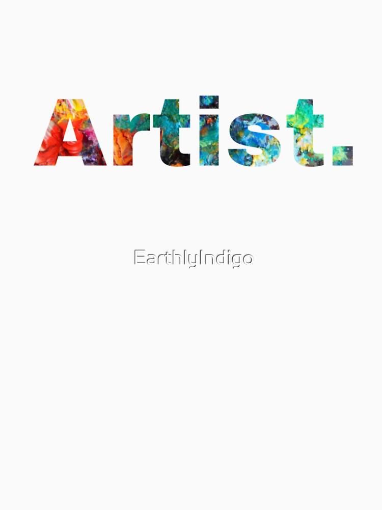 Artist Art, Paint Pallete, Artist Painter Designer by EarthlyIndigo