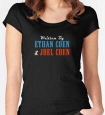 The Big Lebowski | Written by Ethan Coen & Joel Coen Women's Fitted Scoop T-Shirt