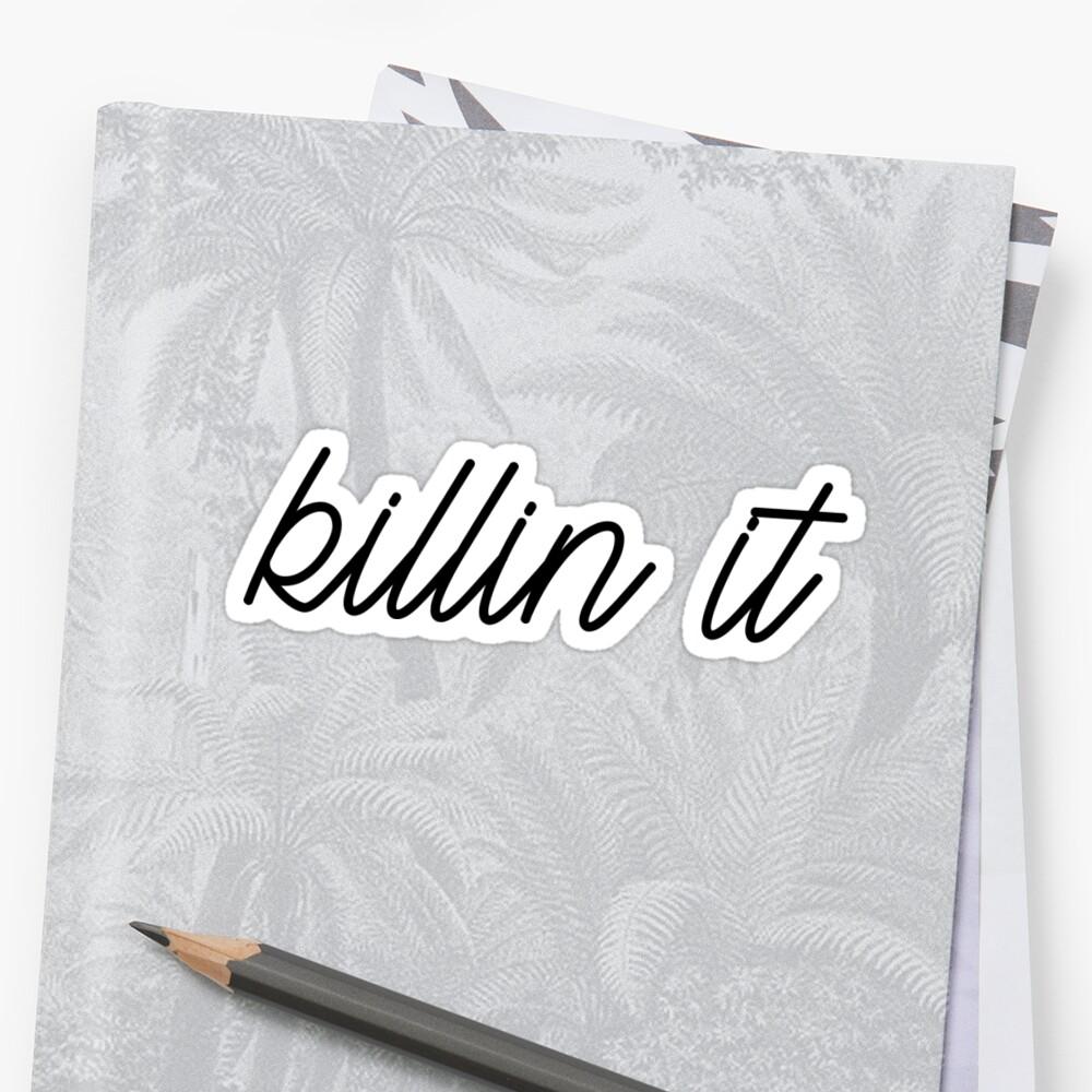 killin it by cgidesign
