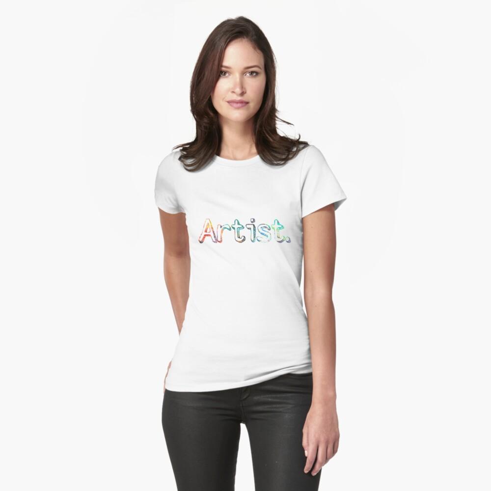 Künstler Art Painter Geschenk Tailliertes T-Shirt