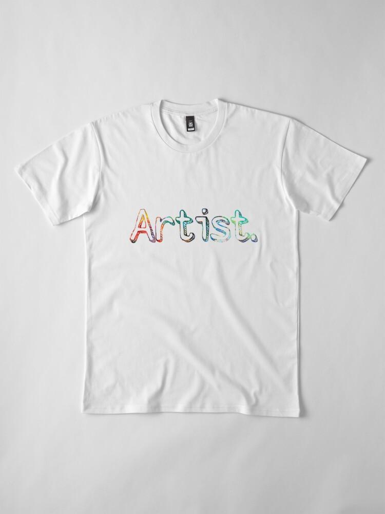 Alternative Ansicht von Künstler Art Painter Geschenk Premium T-Shirt