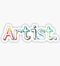 Künstler Art Painter Geschenk Sticker
