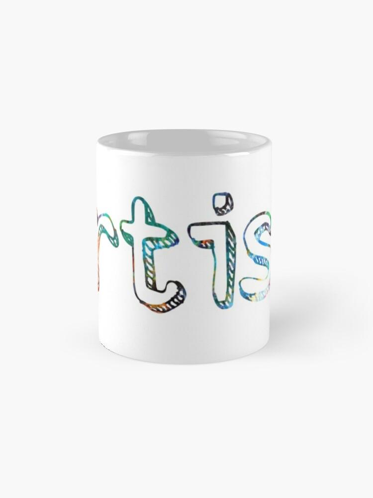 Alternative Ansicht von Künstler Art Painter Geschenk Tasse