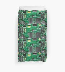 Electronic circuit board Duvet Cover
