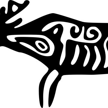 Native Moose Design by jessie9king