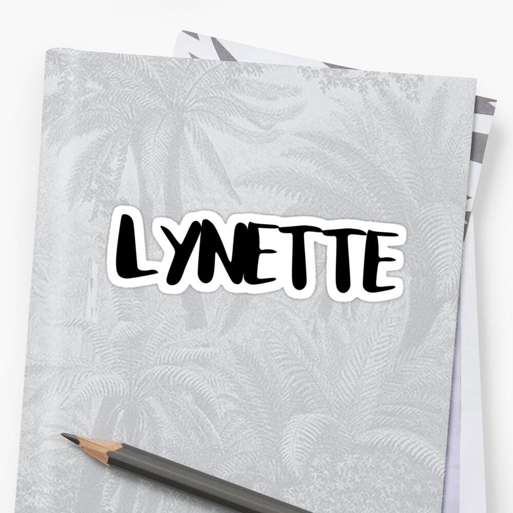 LYNETTE by FTML