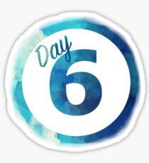 DAY6 Logo Custom 2017 Sticker