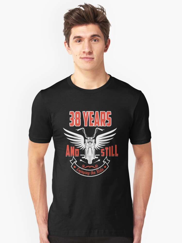Best T-shirt For 38th Wedding Anniversary, Fashion Anniversary Gifts For Couple Unisex T-Shirt Front