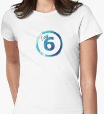 DAY6 Logo Custom 2017 Women's Fitted T-Shirt