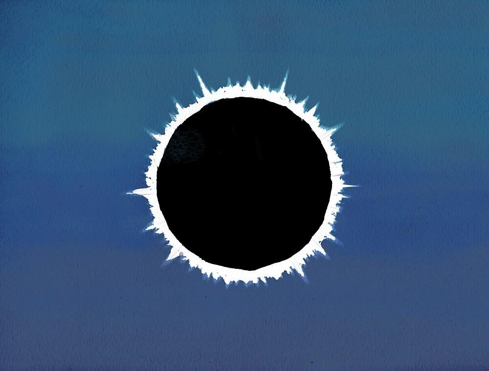 Total Solar Eclipse - Painting by pixelmist