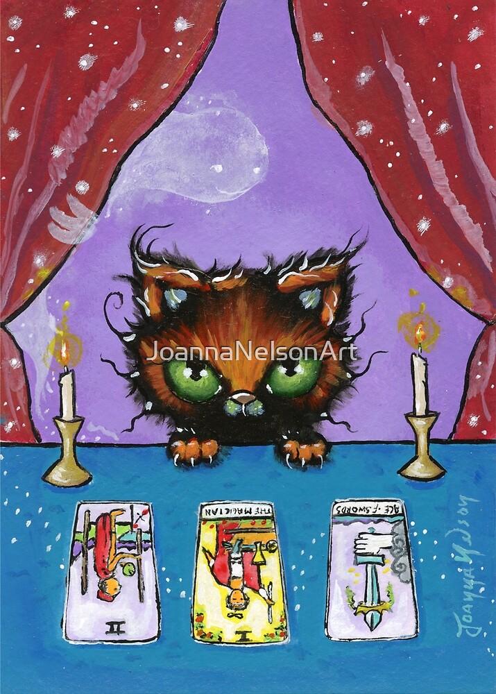 Tarot Kitten by JoannaNelsonArt