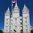 Salt Lake Temple by Yair Karelic
