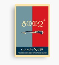 Game of Snips - 8002…  Canvas Print