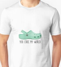 you croc my world Unisex T-Shirt