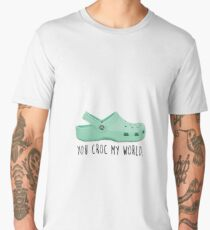 you croc my world Men's Premium T-Shirt