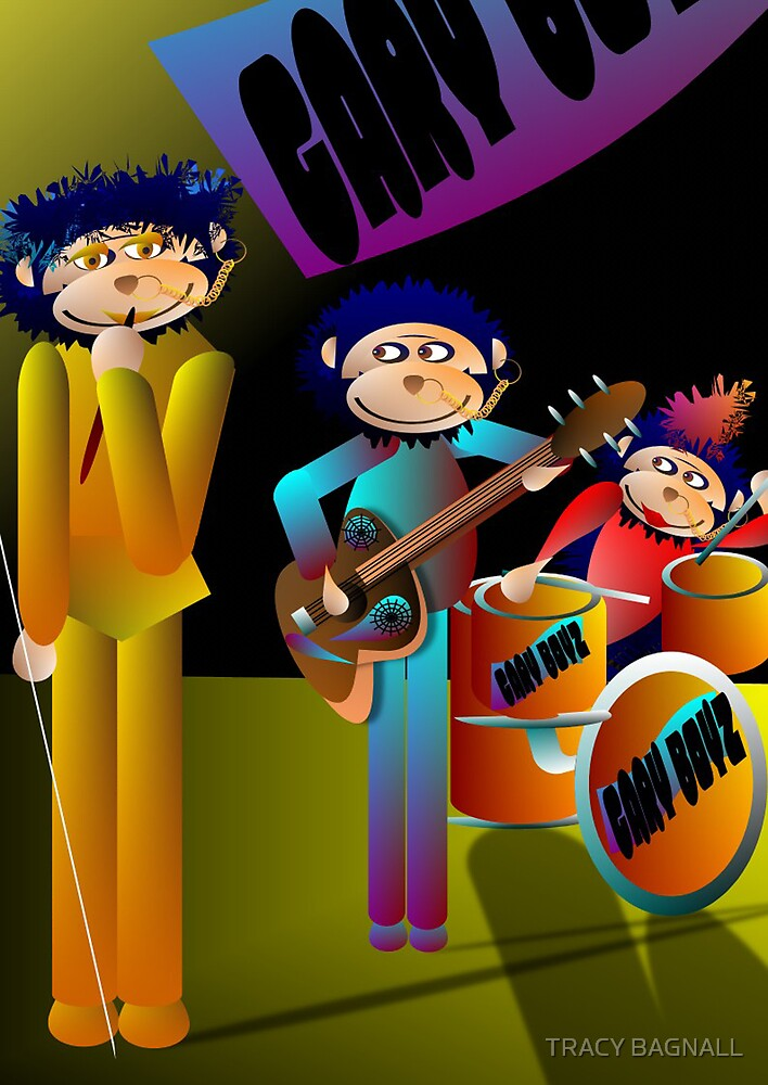 gary band by TRACY BAGNALL
