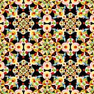 Kaleidoscope Fiesta by PatriciaSheaArt