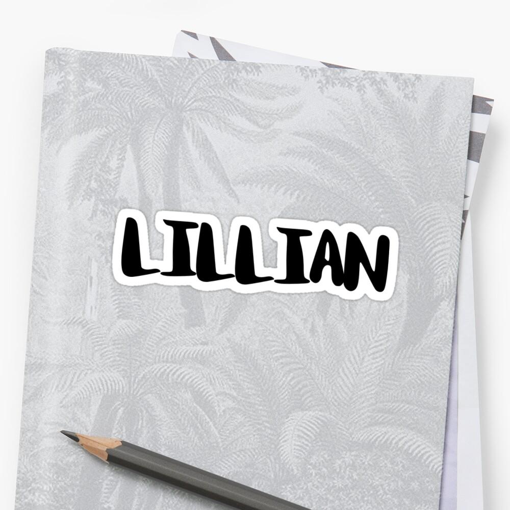 LILLIAN by FTML