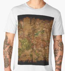 Map of Europe 1740 Men's Premium T-Shirt
