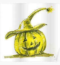 Jack-o'-lantern Poster