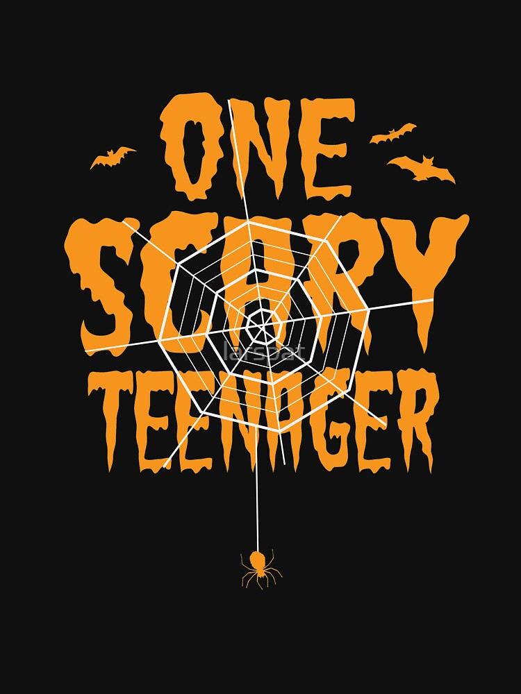 One Scary Teenager T-Shirt Halloween Tomb It May Concern Tees by larspat