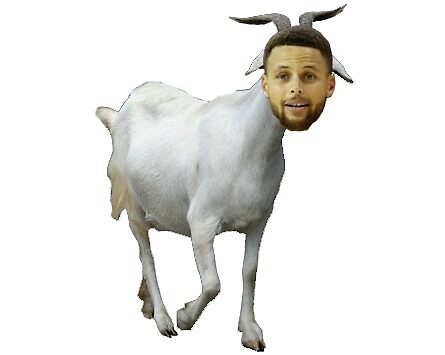 Steph Curry GOAT by kennyhorsley