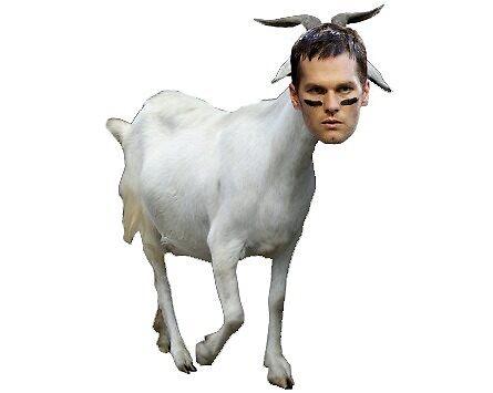Tom Brady GOAT by kennyhorsley