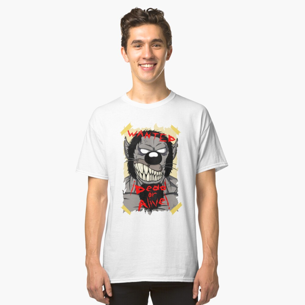 Wanted Dracula Classic T-Shirt Front