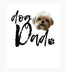 Dog Breed Shih Tzu Dad Photographic Print