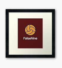 Proper Football - False Nine Framed Print