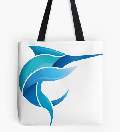 Black Marlin Blog - Full colour logo Tote Bag