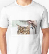 Cat bath Unisex T-Shirt