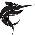 Black Marlin Blog Logo - Black on White by blackmarlinblog