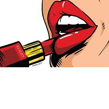Illality Lipstick by NoahDenten