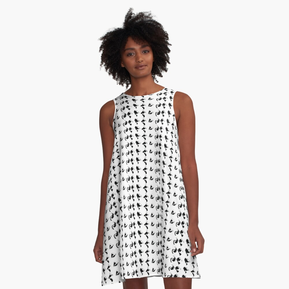 Earth Changes A-Line Dress Front