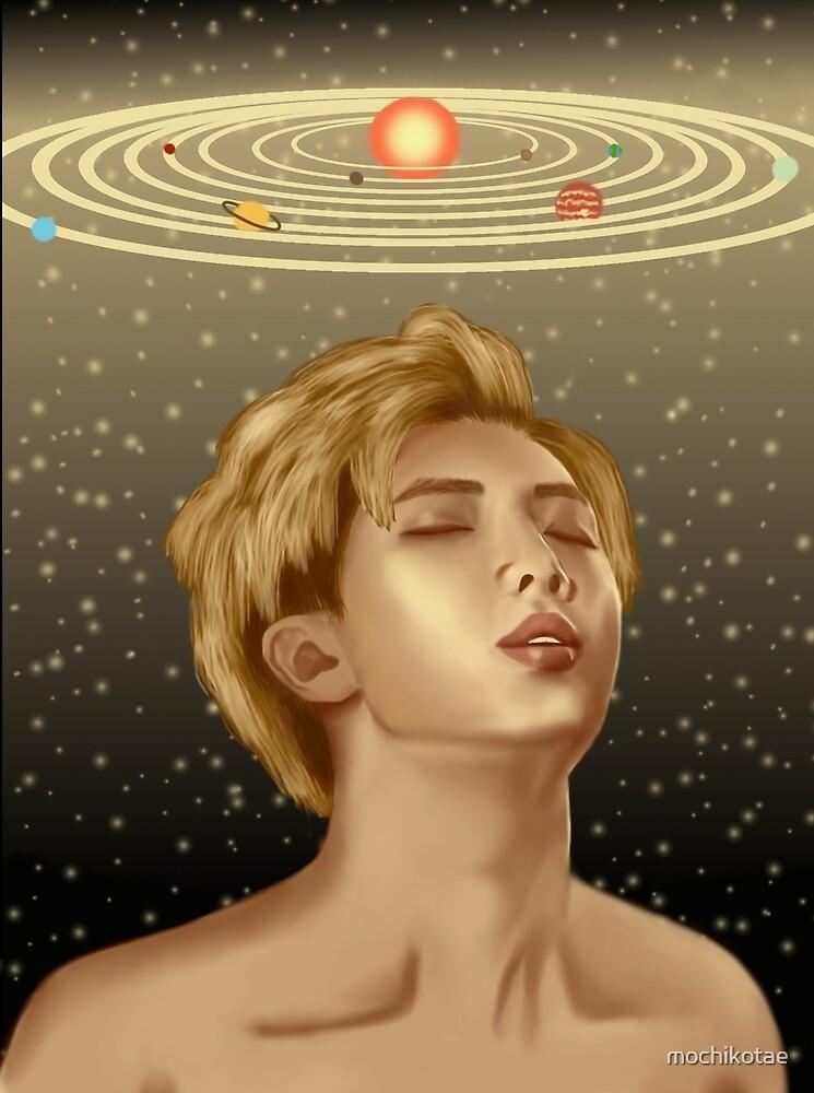 BTS Kim Namjoon Solar System by mochikotae
