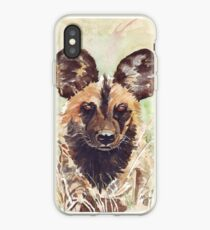 African Wild Dog iPhone Case