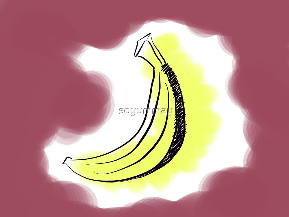 Cloudy Banana by soyummay