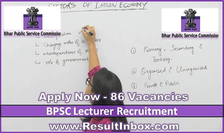 BPSC Lecturer Recruitment by resultinbox