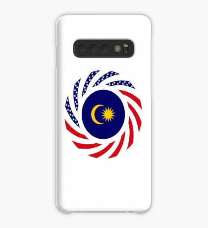 Malaysian American Multinational Patriot Flag Series Case/Skin for Samsung Galaxy